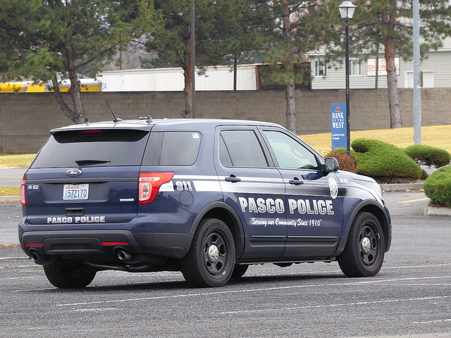 Pasco Washington Police SUV