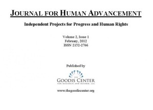 Journal for Human Advancement | Volume 2, Issue 1 | The Goodis Center Human Rights